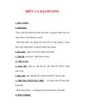 Giáo án Địa lý lớp 6 : Tên bài dạy : BIỂN VÀ ĐẠI DƯƠNG