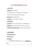 Giáo án Địa lý lớp 6 : Tên bài dạy : CÁC MỎ KHOÁNG SẢN