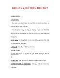 Giáo án Địa lý lớp 6 : Tên bài dạy : KHÍ ÁP VÀ GIÓ TRÊN TRÁI ĐẤT
