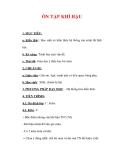 Giáo án Địa lý lớp 6 : Tên bài dạy : ÔN TẬP KHÍ HẬU
