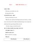 Giáo án lớp 7 môn Công Nghệ: Bài 11 THÊU MÓC XÍCH ( tiết 2)