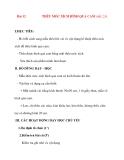 Giáo án lớp 7 môn Công Nghệ: Bài 12 THÊU MÓC XÍCH HÌNH QUẢ CAM (tiết 2,3)