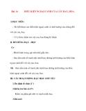 Giáo án lớp 7 môn Công Nghệ: Bài 16 ĐIỀU KIỆN NGOẠI CẢNH CỦA CÂY RAU, HOA.