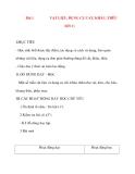 Giáo án lớp 7 môn Công Nghệ: Bài 1 VẬT LIỆU, DỤNG CỤ CẮT, KHÂU, THÊU (tiết 1)