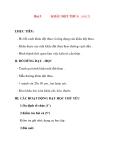 Giáo án lớp 7 môn Công Nghệ: Bài 5 KHÂU ĐỘT THƯA (tiết 2)