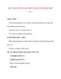 Giáo án lớp 7 môn Công Nghệ: Bài 7 KHÂU ĐƯỜNG GẤP MÉP VẢI BẰNG MŨI KHÂU ĐỘT (tiết 1)