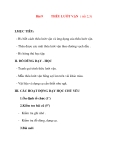 Giáo án lớp 7 môn Công Nghệ: Bài 9 THÊU LƯỚT VẶN ( tiết 2,3)