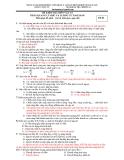 Đề kiểm tra 1 tiết môn Lý (Kèm đáp án)