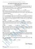 Bài tập mốt số phương pháp giải bài toán hóa hữa cơ - 1