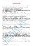 Bài tập hidrocacbon mạch hở