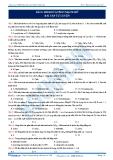 BÀI 6. HIDROCACBON MẠCH HỞ BÀI TẬP TỰ LUYỆN