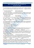 BÀI 25. TỔNG HỢP KIẾN THỨC HÓA HỮU CƠ 2 BÀI TẬP TỰ LUYỆN