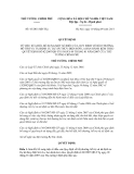 Quyết định số 43/2011/QĐ-TTg