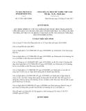 Quyết định số 15/2011/QĐ-UBND