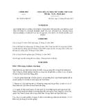 Quyết định số 70/2011/NĐ-CP