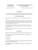 Quyết định số 24/2011/QĐ-UBND