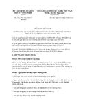 Thông tư liên tịch số 112/2011/TTLT/BTCBKHCN