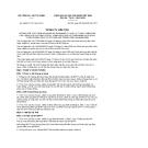 Thông tư liên tịch số 05/2011/TTLT-BCA-BTC