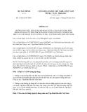 Thông tư số 115/2011/TT-BTC