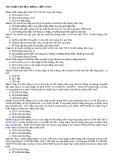100 câu hỏi trắc nghiệm môn thuế