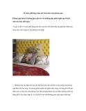 10 cách phối hợp màu sắc hoàn hảo cho phòng ngủ