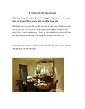 8 cách làm đẹp nhà bằng ánh sáng