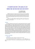 """Báo cáo khoa học: """"lý thuyết tập mờ và ứng dụng của nó trong việc giải bài toán lập luận xấp xỉ"""""""