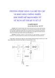 """Báo cáo khoa học: """"Ph-ơng pháp nâng cao độ tin cậy và khả năng chống nhiễu khi thiết kế mạch điện tử sử dụng kỹ thuật vi xử lý"""""""