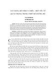 """Báo cáo khoa học: """"xây dựng mô hình 3 chiều - một yếu tố quan trọng trong thiết kế đ-ờng bộ"""""""