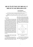 """Báo cáo khoa học: """"Một số vấn đề về khả năng thông qua và thiết kế nút giao thông hình xuyến"""""""