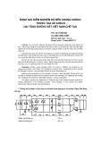 """Báo cáo khoa học: """"đánh giá kiểm nghiệm độ bền khung x-ơng thùng toa xe khách hai tầng đ-ờng sắt Việt Nam chế tạo"""""""