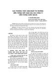 """Báo cáo khoa học: """"các phương thức xâm nhập thị trường viễn thông Việt nam của các công ty viễn thông nước ngoài"""""""