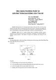 """Báo cáo khoa học: """"ứng dụng ph-ơng pháp VZ giải bài toán dao động của toa xe"""""""