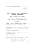 "Báo cáo toán học: ""Global Existence of Solution for Semilinear Dissipative Wave Equation"""