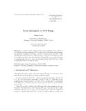 """Báo cáo toán học: """"Some Examples of ACS-Rings"""""""