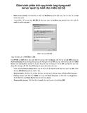 Giáo trình phân tích quy trình ứng dụng mail server quản lý mail cho miền nội bộ p1