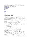 Momen động lượng - Đinh luật bảo toàn momen động lượng
