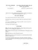 Quyết định số 1427/QĐ-TTg