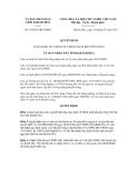 Quyết định số 18/2011/QĐ-UBND