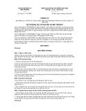 Thông tư số 28/2011/TT-BTNMT