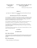 Thông tư số 29/2011/TT-BTNMT