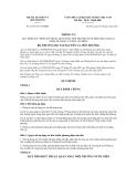 Thông tư số 31/2011/TT-BTNMT