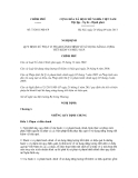 Nghị định số 73/2011/NĐ-CP