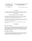 Quyết định số 316/QĐ-TCLN-VP