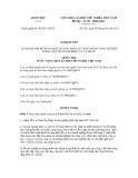 Nghị quyết số 08/2011/QH13
