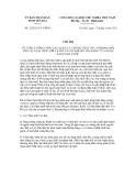 Chỉ thị số 12/2011/CT-UBND