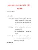 Giáo án Âm nhạc lớp 6 : Tên bài dạy : HỌC HÁT: BÀI NGÀY ĐẦU TIÊN ĐI HỌC