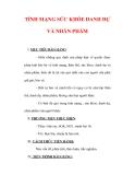 Giáo án Giáo dục công dân lớp 6 : Tên bài dạy : TÍNH MẠNG SỨC KHỎE DANH DỰ VÀ NHÂN PHẨM
