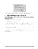 Giáo trình phân tích khả năng vận hành quy trình sử dụng terminal service profile trong cấu hình account p6