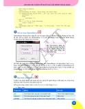 Giáo trình phân tích quy trình vận dụng các cú pháp trên cùng một modun với các chương trình con p5